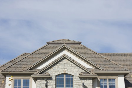 Tile roof installation in Browns Mills by Magic Roofing & Siding Inc.