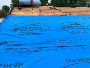 Princeton Junction roof installation by Magic Roofing & Siding Inc.